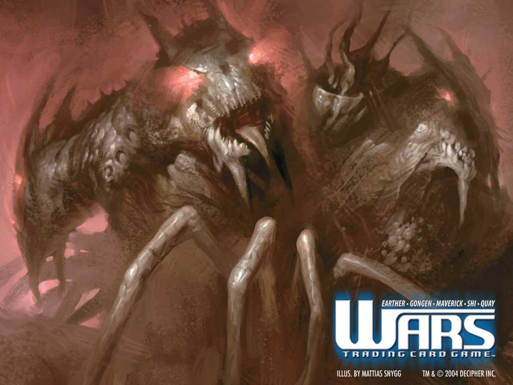 Fantasy Wallpaper: Wars - Apparition