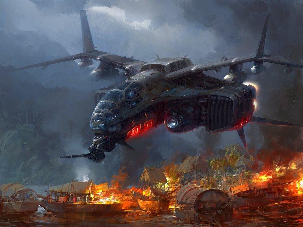 Fantasy Wallpaper: Warship