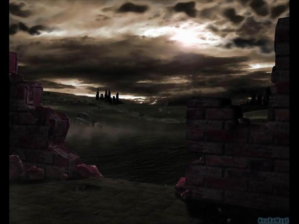 Fantasy Wallpaper: Wasteland - Landscape