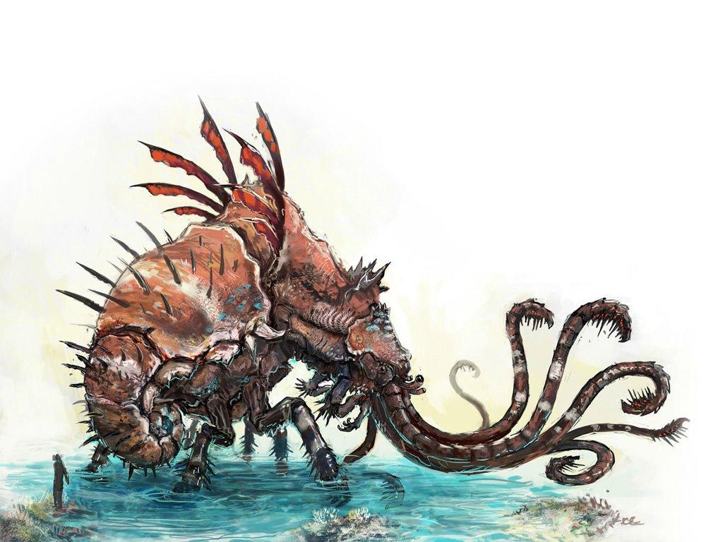 Fantasy Wallpaper: Weird Monster