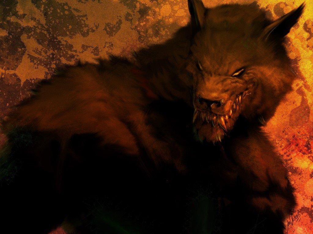 Fantasy Wallpaper: Werewolf