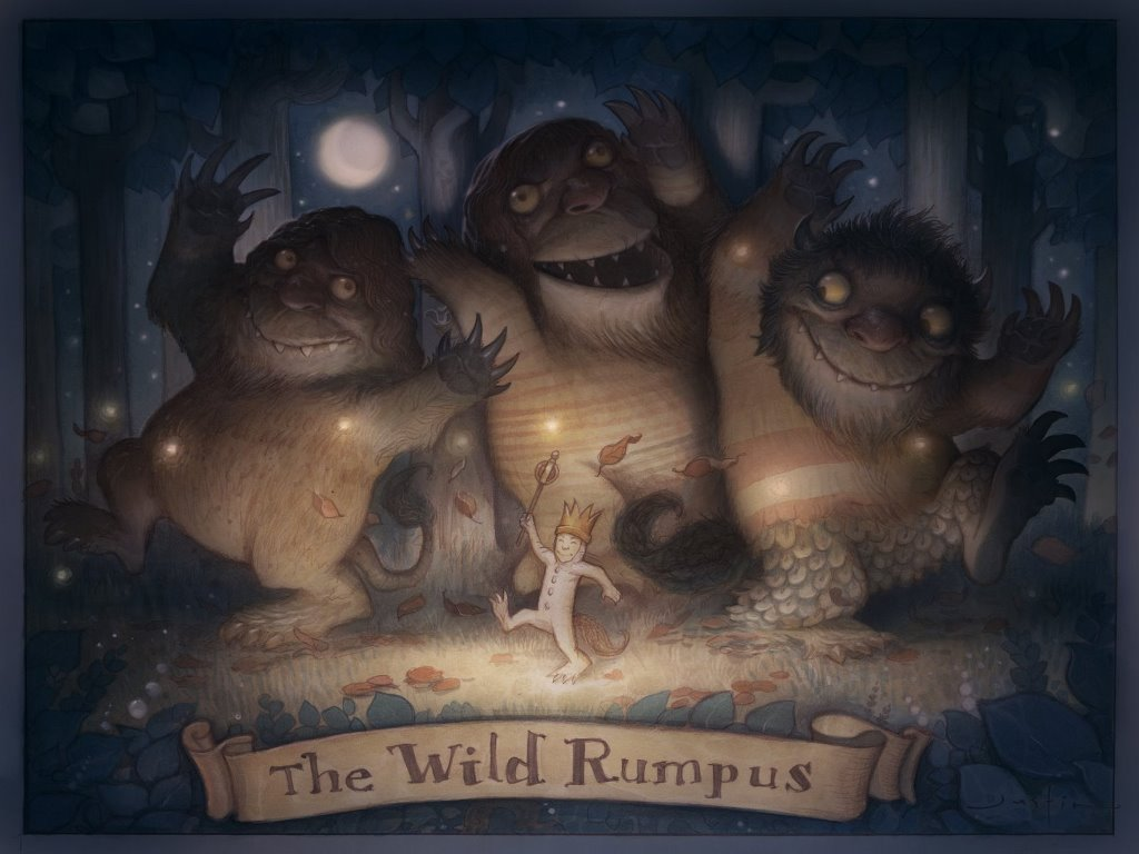 Fantasy Wallpaper: Where the Wild Things Are