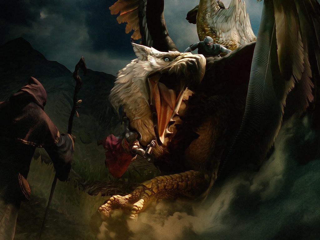 Fantasy Wallpaper: Wild Taming
