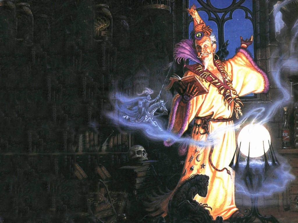 Fantasy Wallpaper: Wizard