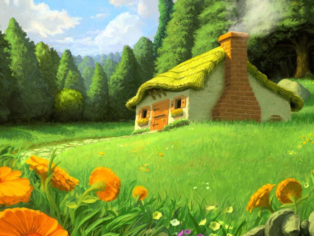 Fantasy Wallpaper: Wonderful Cabin