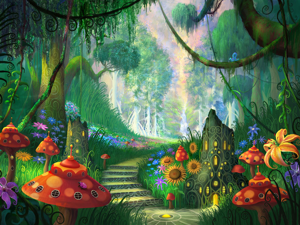 Fantasy Wallpaper: Wonderful Path