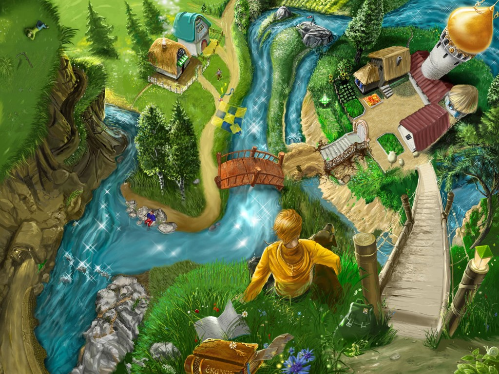 Fantasy Wallpaper: Wonderful Village