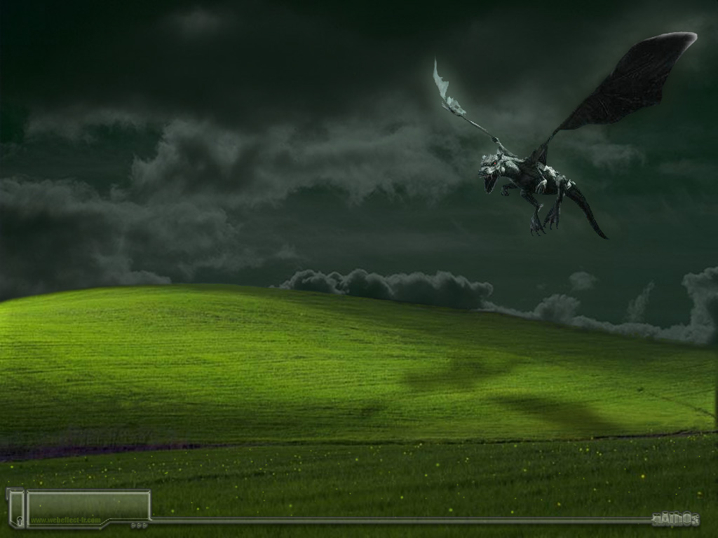 Fantasy Wallpaper: XP - Dragon