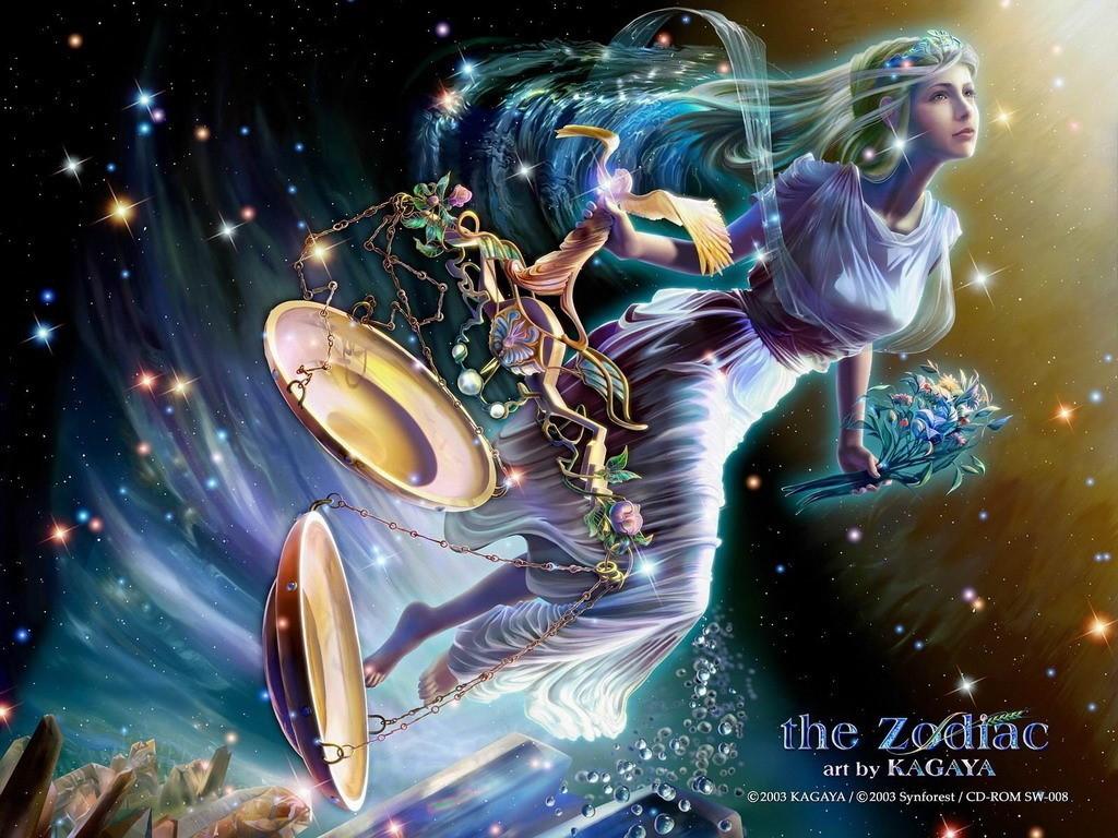 Fantasy Wallpaper: Zodiac