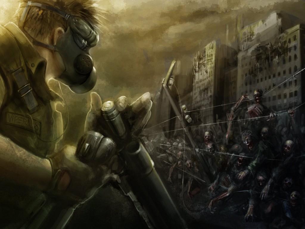 Fantasy Wallpaper: Zombie Perimeter
