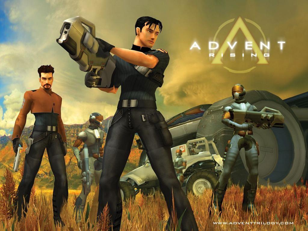 Games Wallpaper: Advent Rising