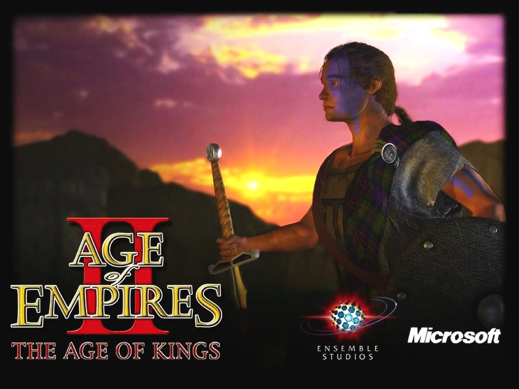 Games Wallpaper: Age of Kings - William Wallace
