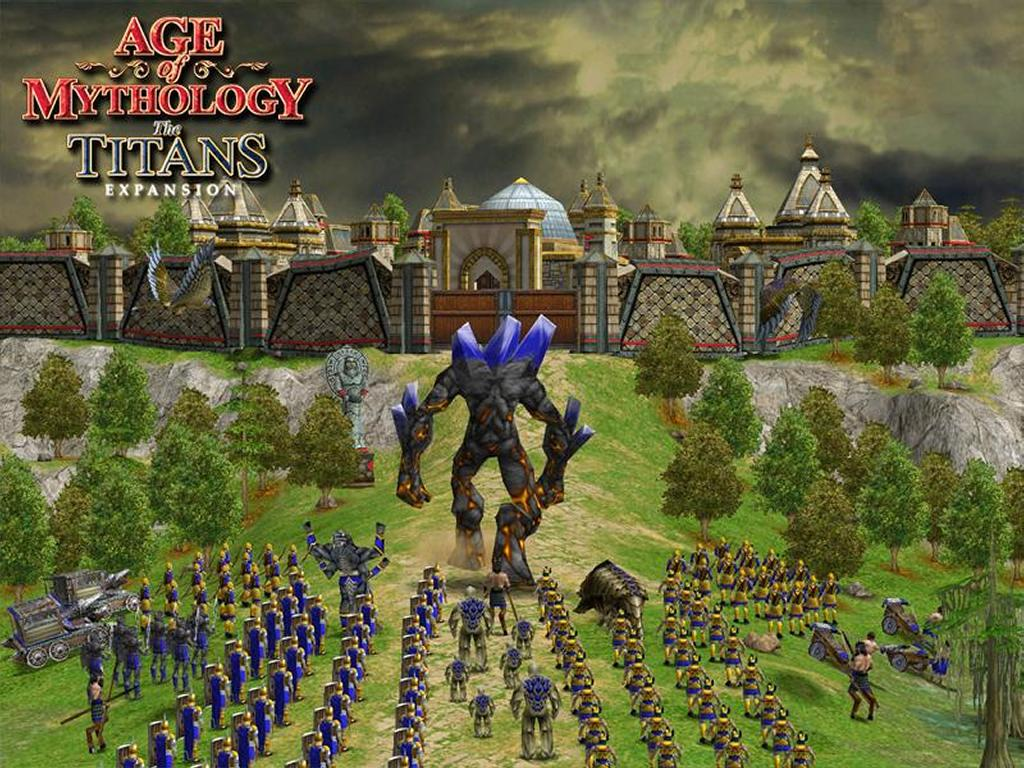 Games Wallpaper: Age of Mythology - The Titans