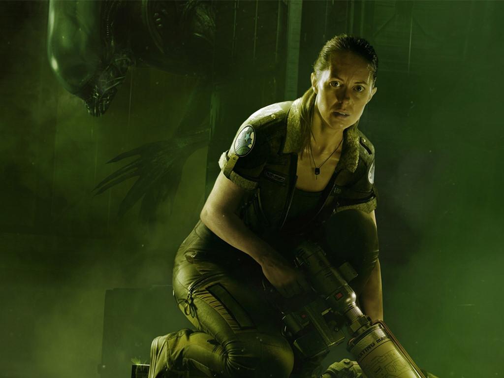 Games Wallpaper: Alien Isolation