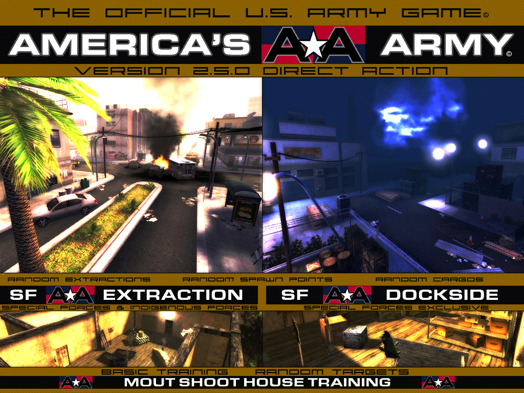 Games Wallpaper: America's Army