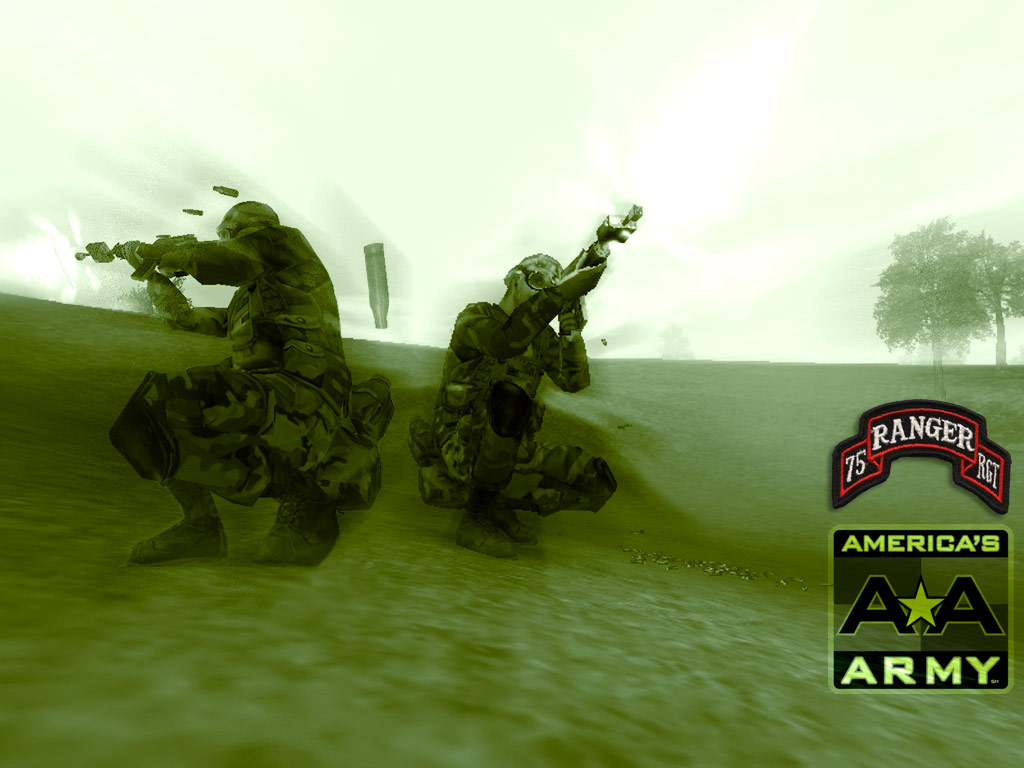 Games Wallpaper: America's Army - Rangers