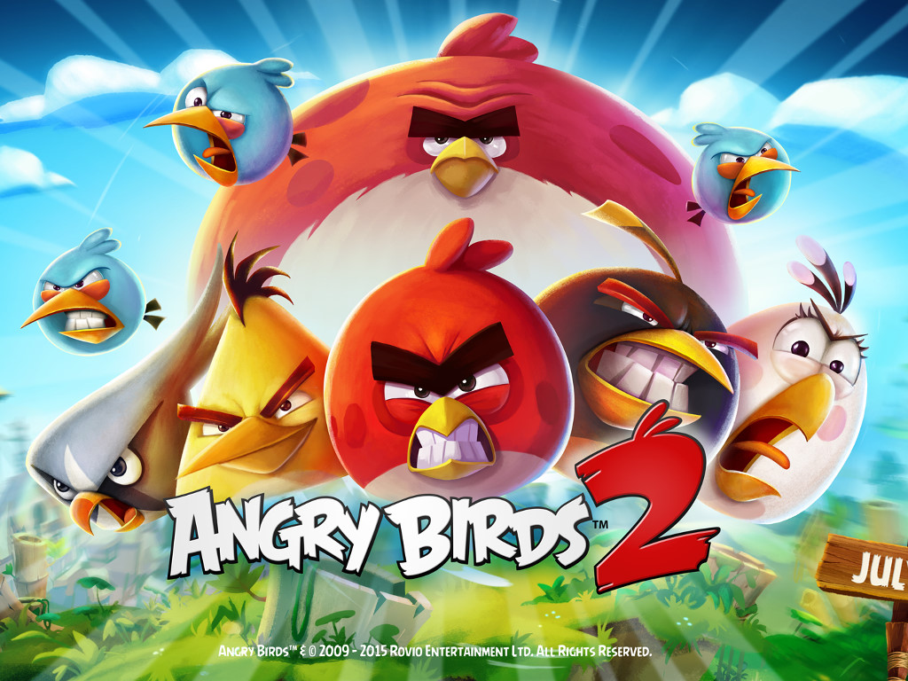 Games Wallpaper: Angry Birds 2