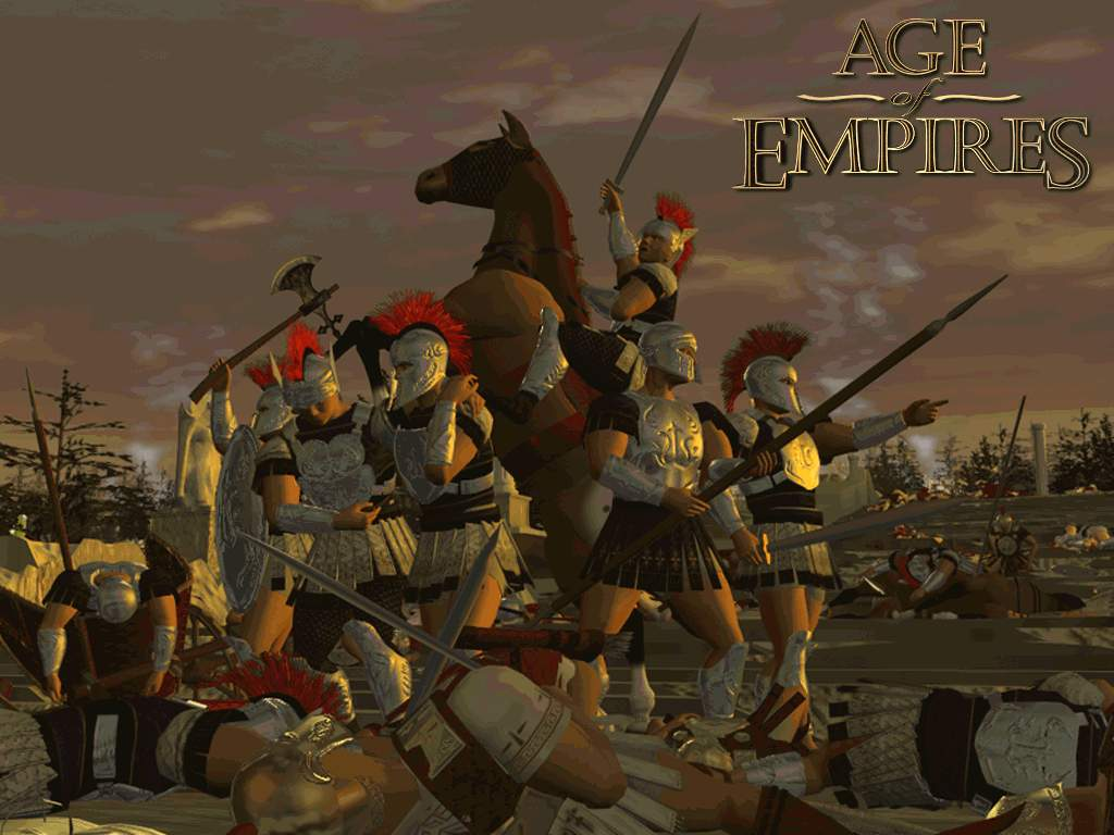 Games Wallpaper: AoE - Victory