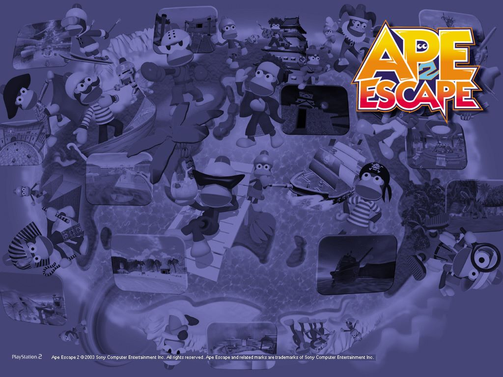 Games Wallpaper: Ape Escape 2