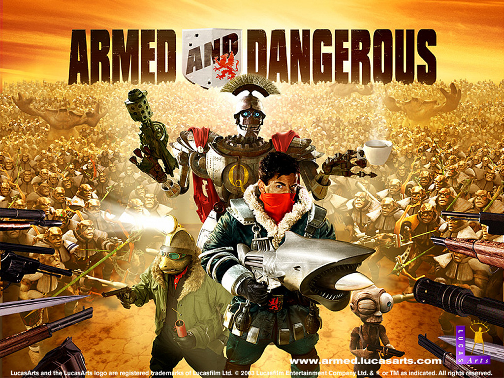 Games Wallpaper: Armed and Dangerous