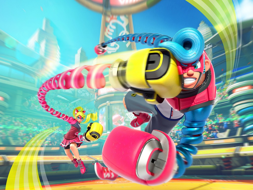 Games Wallpaper: Arms