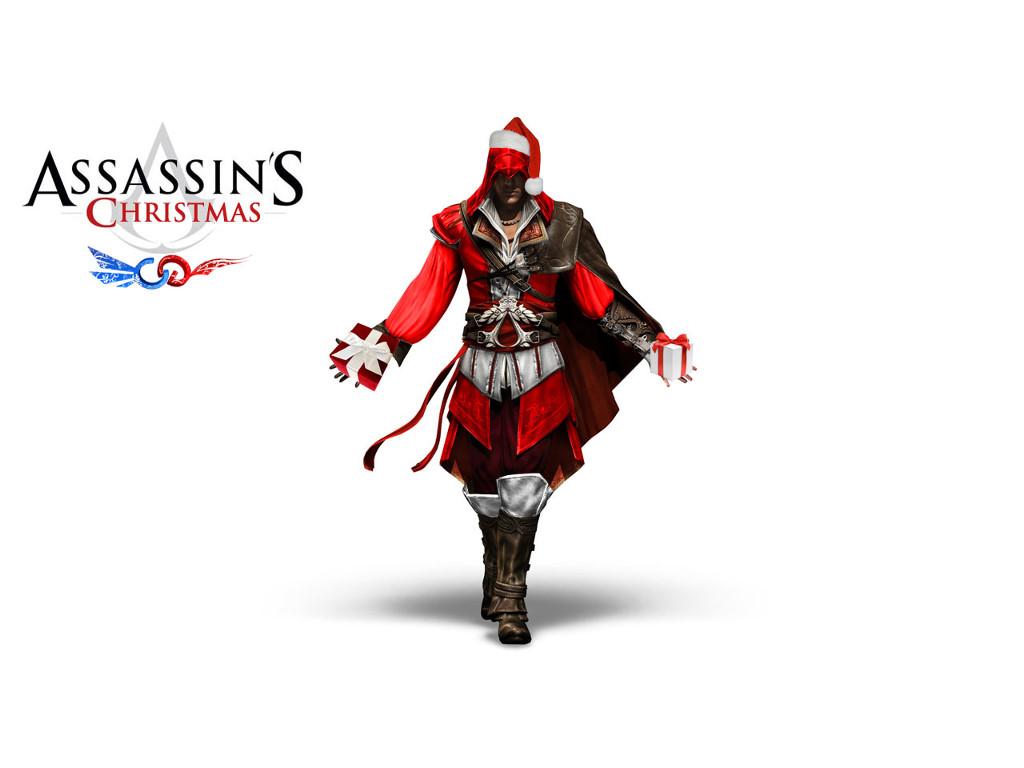 Games Wallpaper: Assassin's Christmas