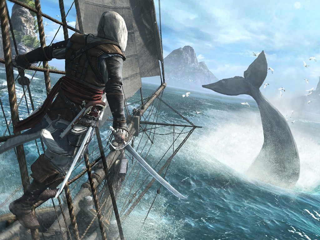 Games Wallpaper: Assassin's Creed IV - Black Flag