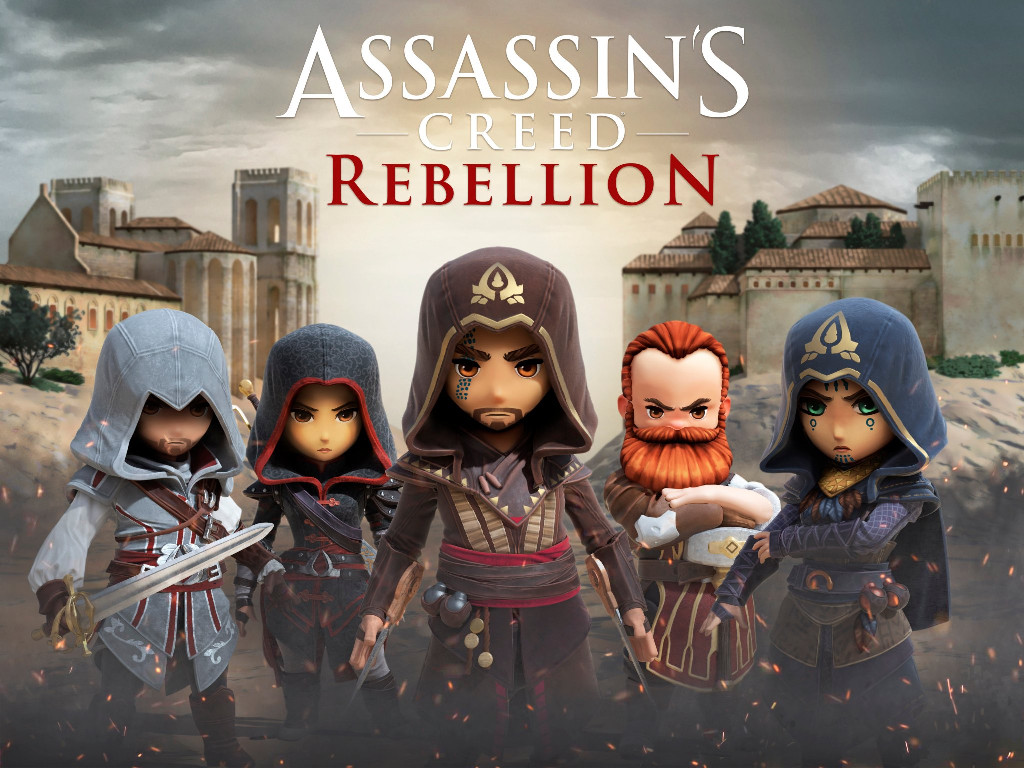 Games Wallpaper: Assassin's Creed - Rebellion