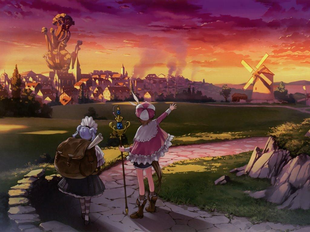 Games Wallpaper: Atelier Rorona