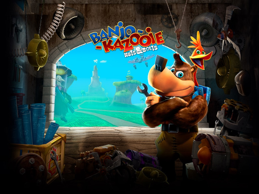 Games Wallpaper: Banjo-Kazooie: Nuts & Bolts