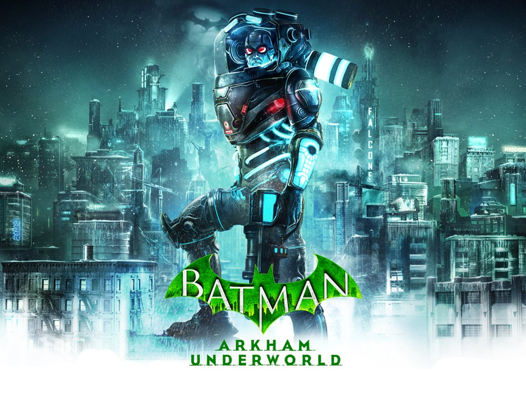 Games Wallpaper: Batman - Arkham Underworld (Mr. Freeze)