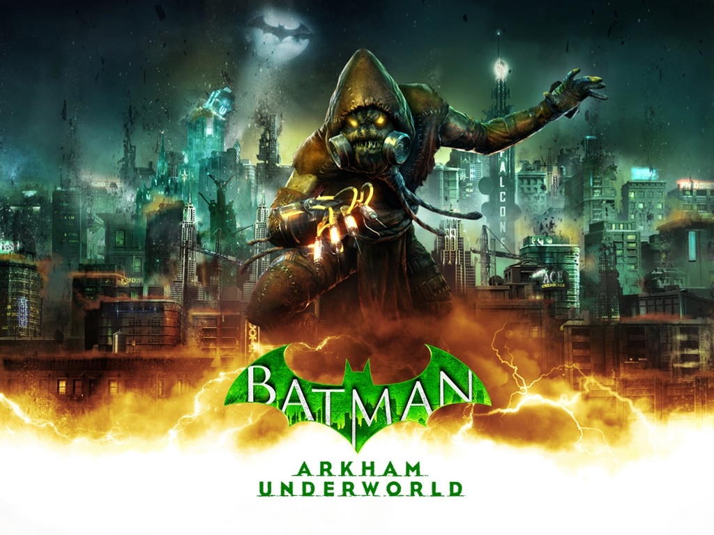 Games Wallpaper: Batman - Arkham Underworld (Scarecrow)