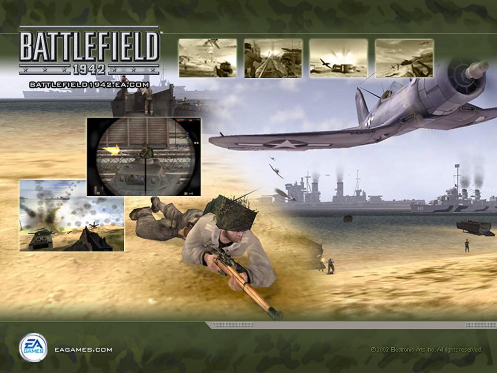 Games Wallpaper: Battlefield 1942