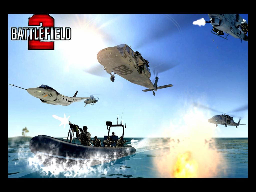 Games Wallpaper: Battlefield 2