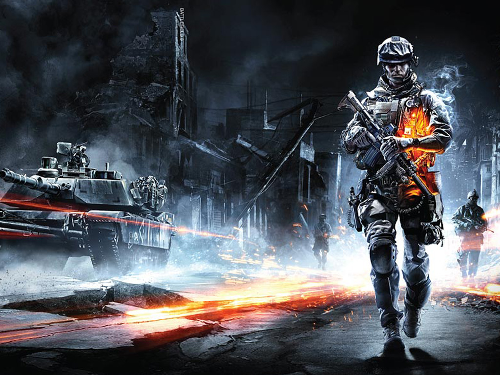 Games Wallpaper: Battlefield 3