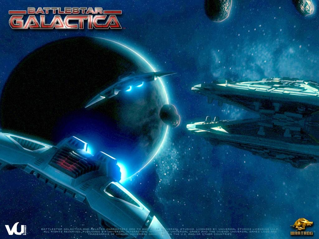 Games Wallpaper: Battlestar Galactica