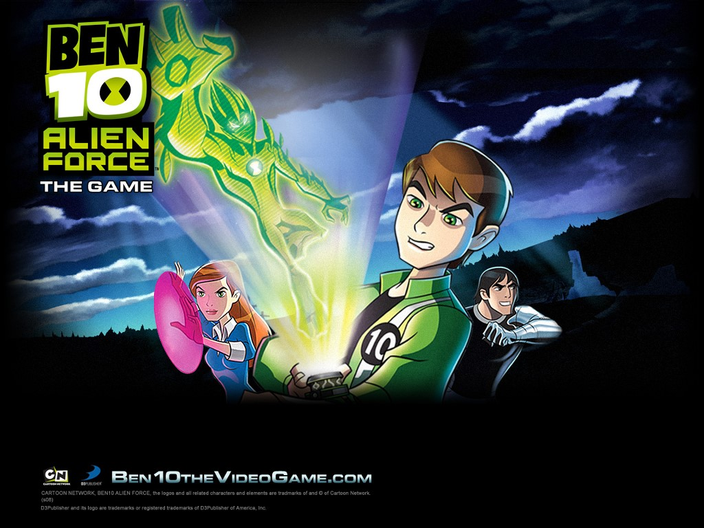 Games Wallpaper: Ben 10 - Alien Force