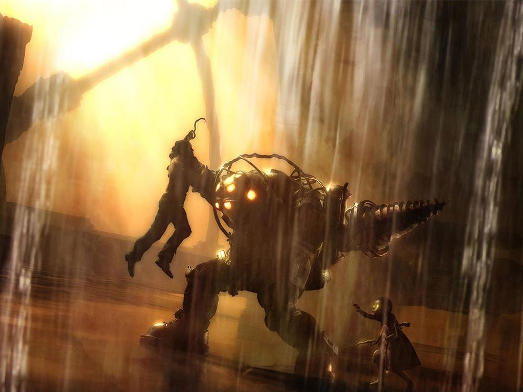 Games Wallpaper: Bioshock - Big Daddy