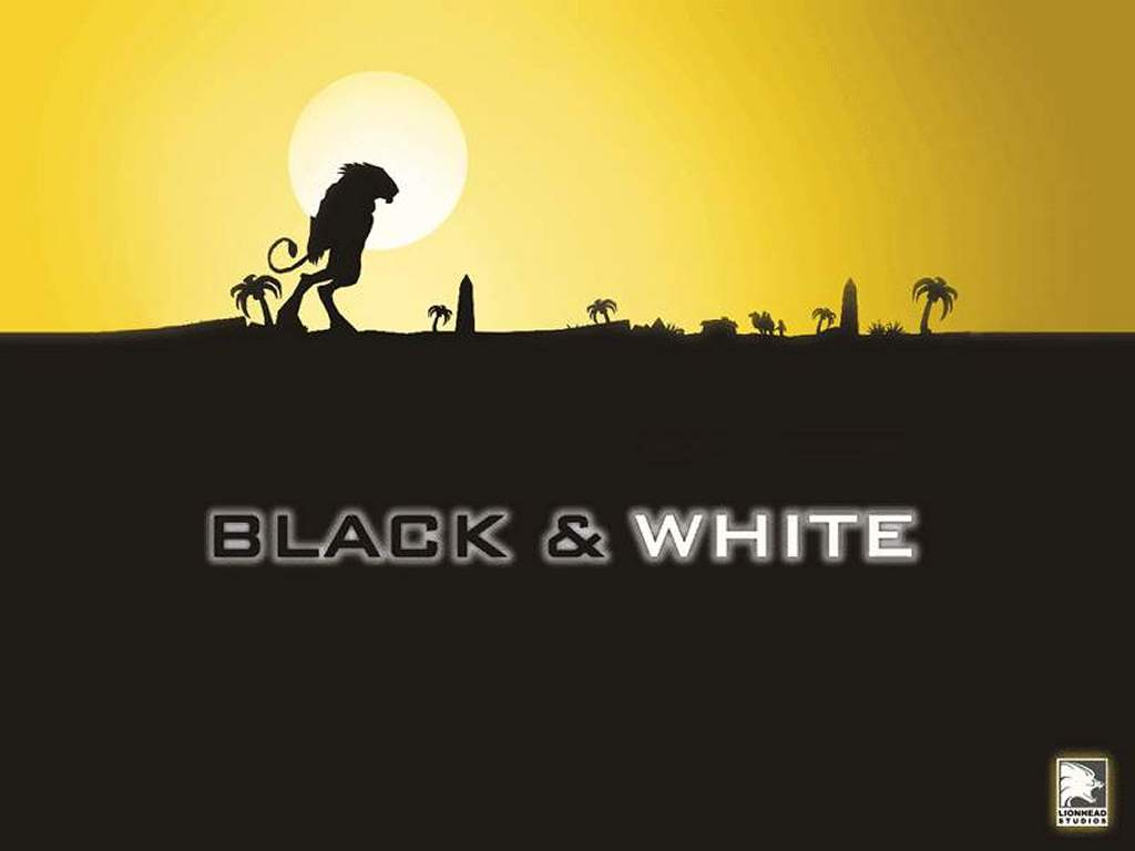 Games Wallpaper: Black and White