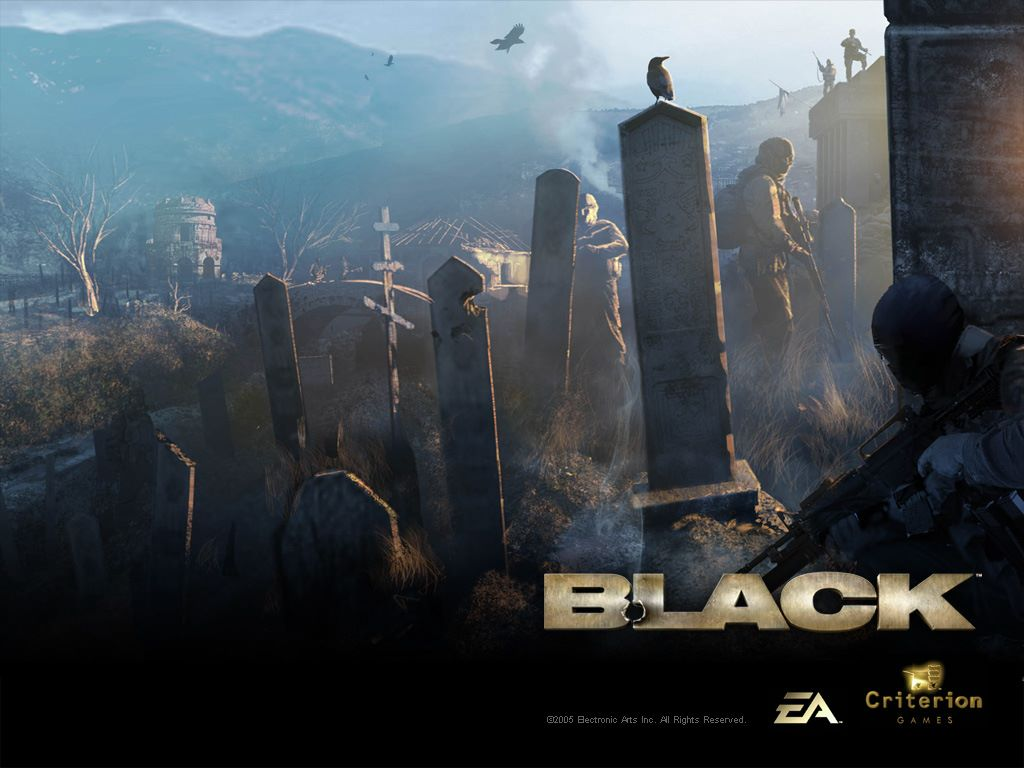 Games Wallpaper: Black