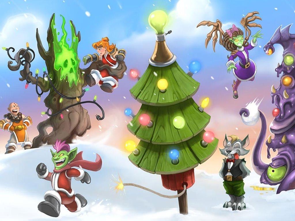 Games Wallpaper: Blizzard - Christmas