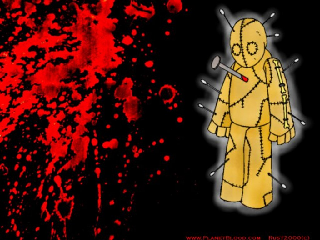 Games Wallpaper: Blood - Voodoo Doll