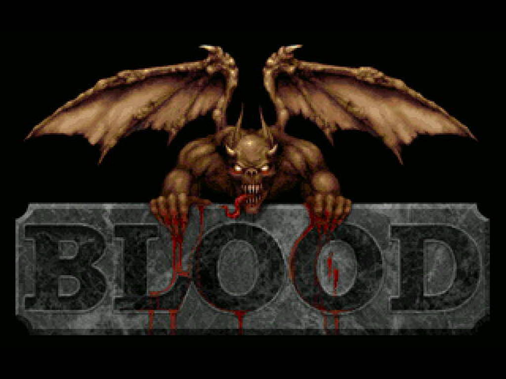 Games Wallpaper: Blood
