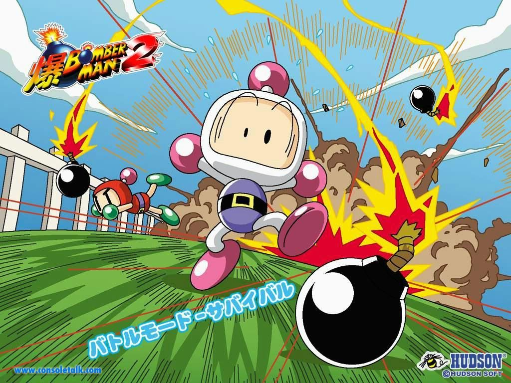 Games Wallpaper: Bomberman 2