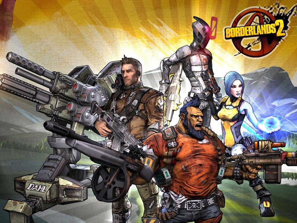 Games Wallpaper: Borderlands 2