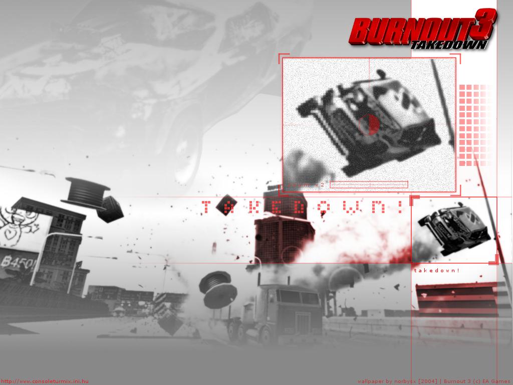Games Wallpaper: Burnout 3 - Takedown