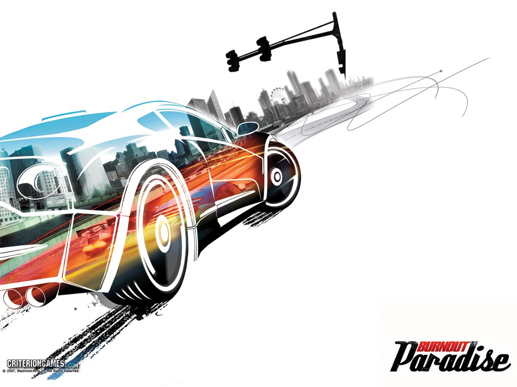 Games Wallpaper: Burnout Paradise