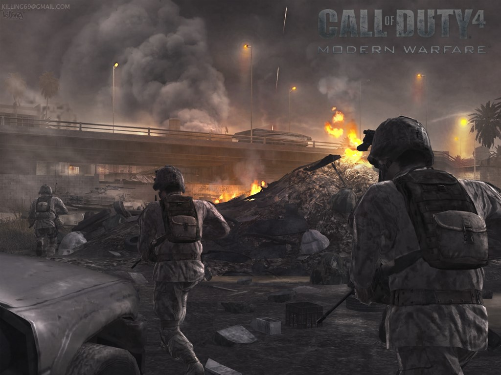 Games Wallpaper: Call of Duty 4