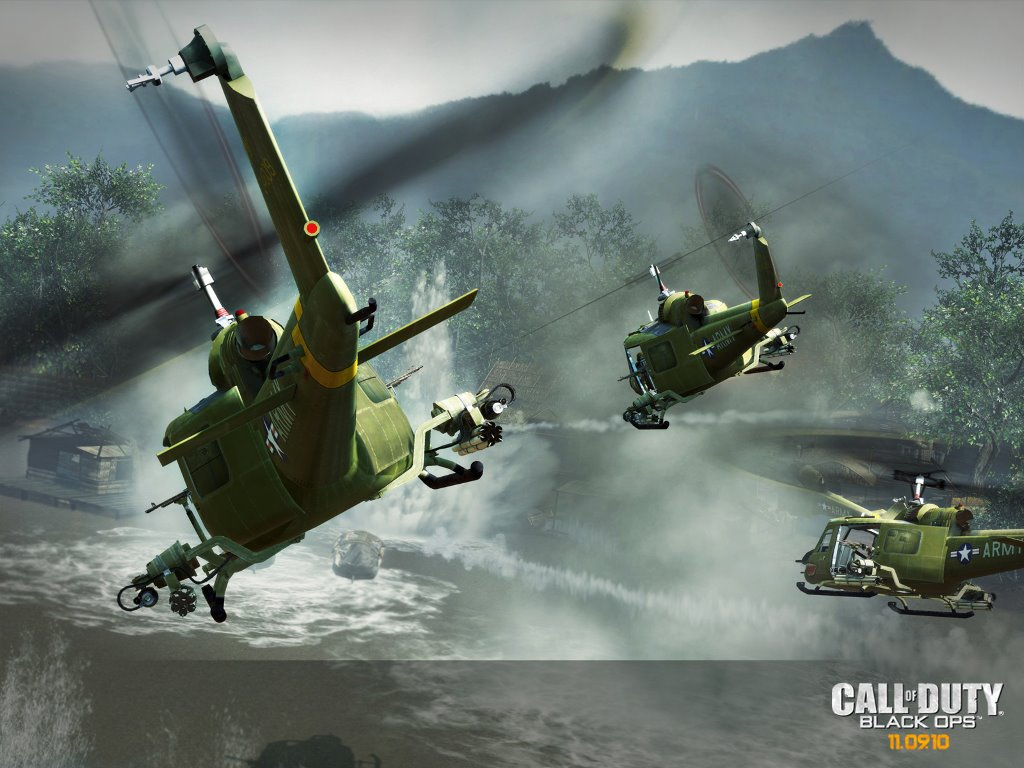 Games Wallpaper: Call of Duty - Black Ops