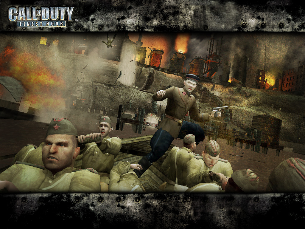 Games Wallpaper: Call of Duty - Finest Hour